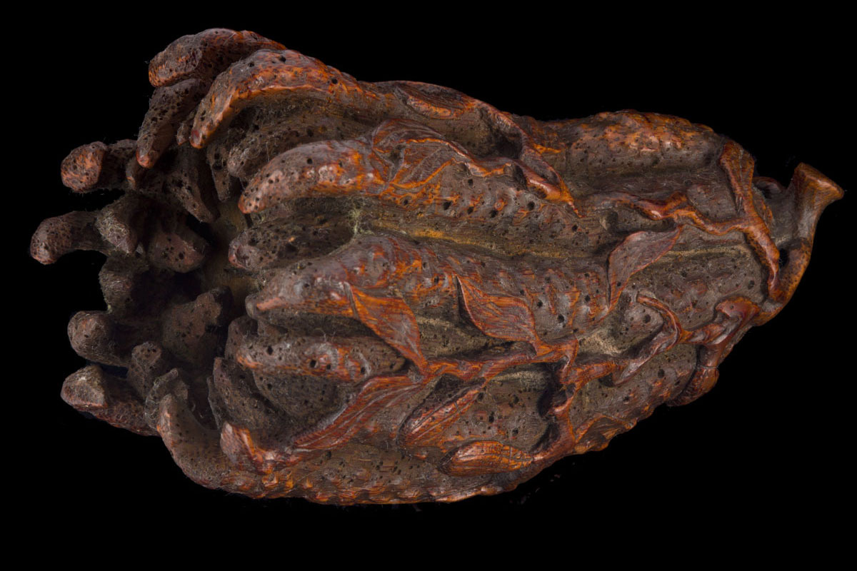 An 18th century Finger citrus hand of Buddha