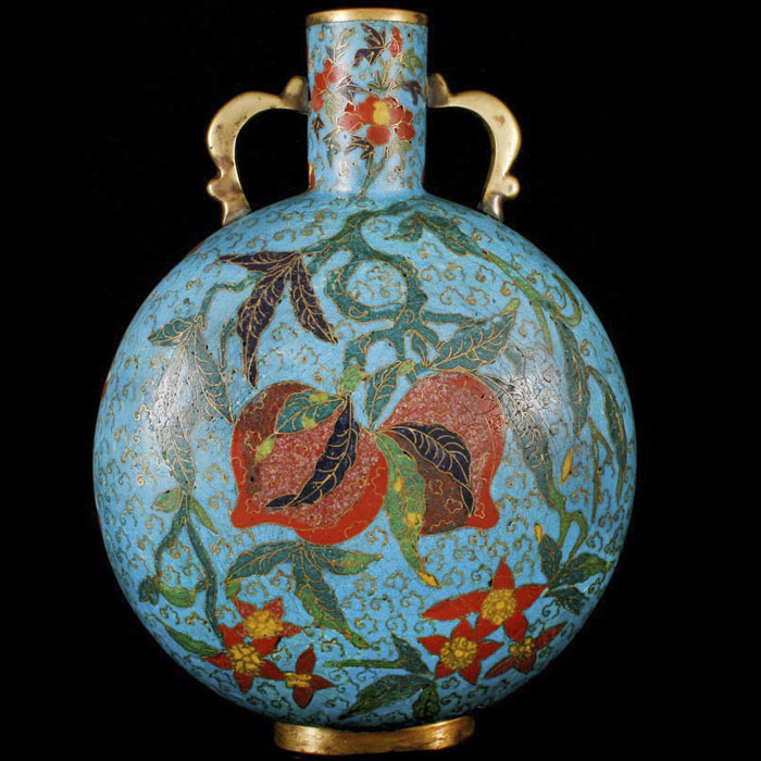 Chinese enamel antiques