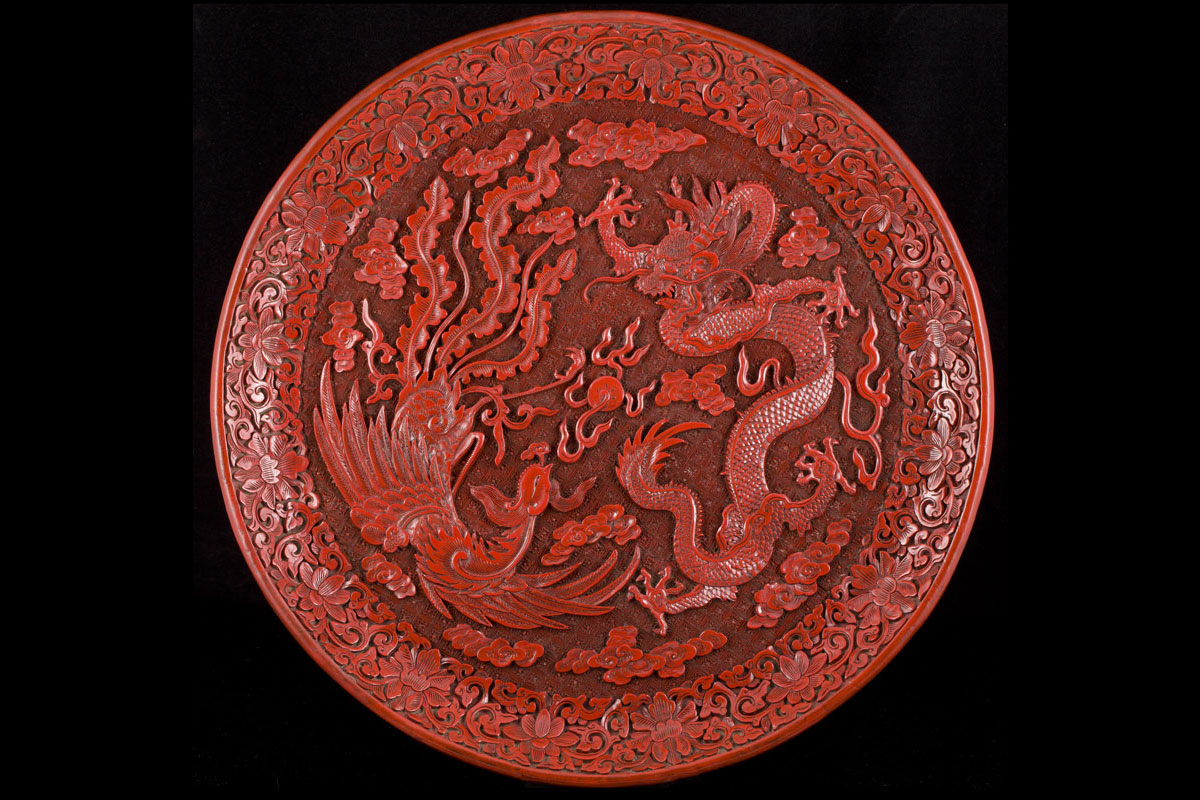 Antique Chinese Lacquer Ming And Qing Dynasties 珍稀中国古董 漆器