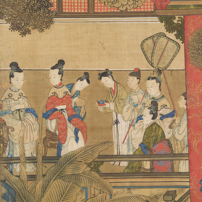 Chinese antique paintings