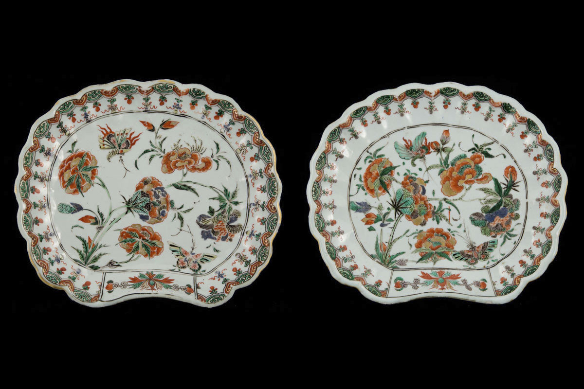 Kangxi pair of serving dishes